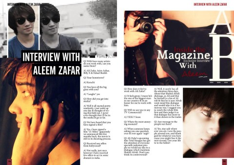 Aleemzafar Interview