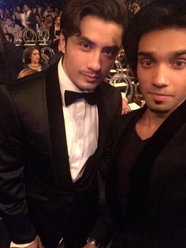 Aleem Zafar with Ali Zafar at LSA