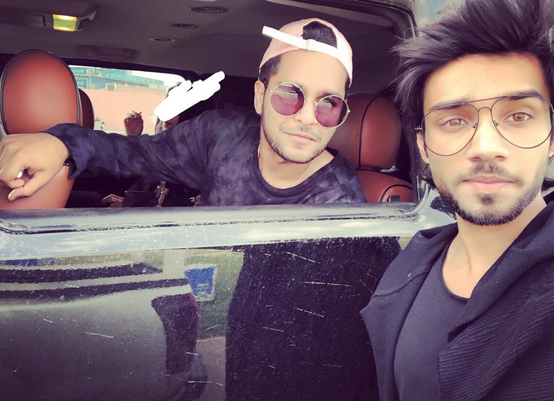 Aleem Zafar with Asim Azhar
